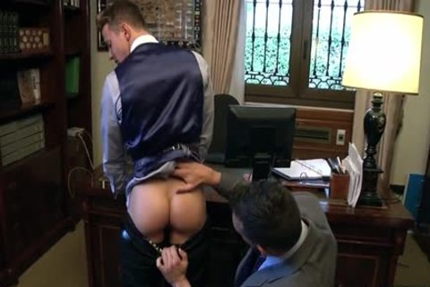 Muscle homo booty stab With sex cream flow