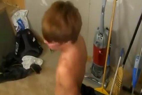 admirable lad Is Caught Smoking