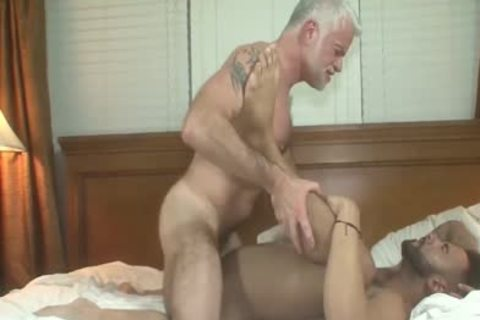 Huge cock threesome